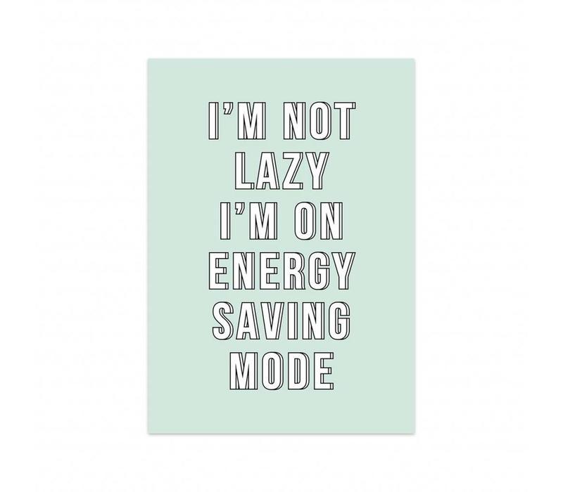 Card Energy saving mode