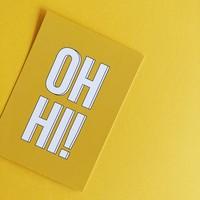 Card Oh hi!