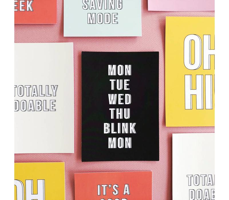 Card Blink