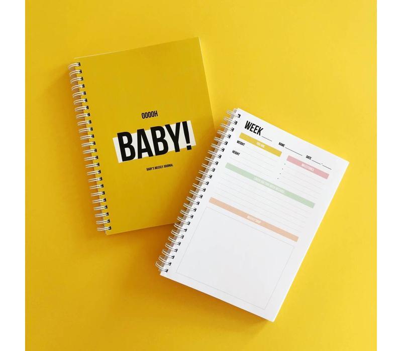 Ooooh baby Weekly journal