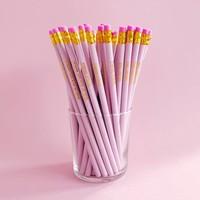 Pretty pink Pencil set