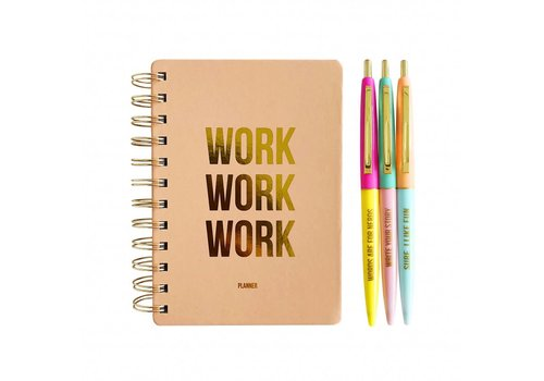 Studio Stationery Planset Blush work work work