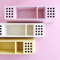 Desk organizer Pens pink