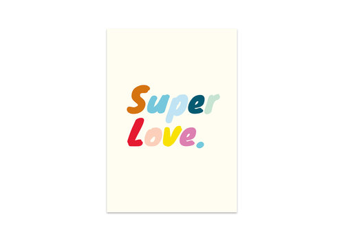 Studio Stationery Card Super love