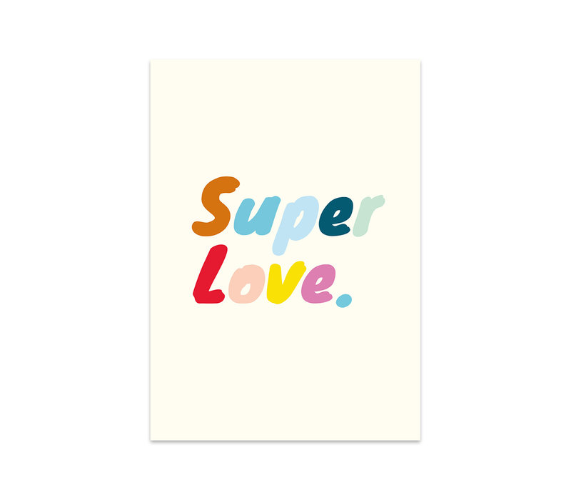 Card Super love