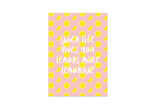 Studio Stationery Kaart Lemonade