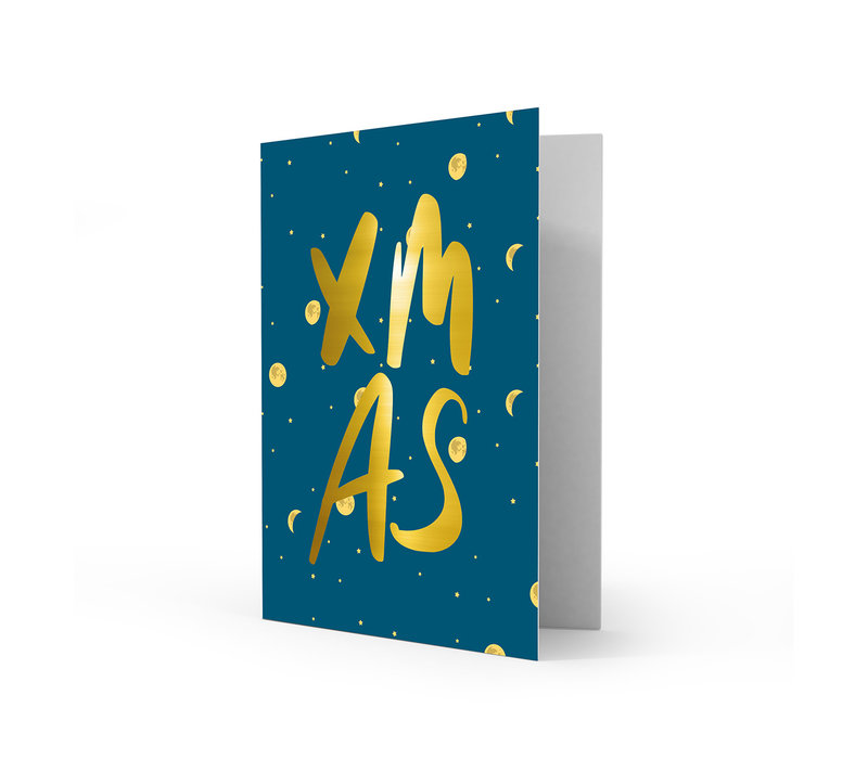 Xmas card XMAS