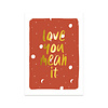 Studio Stationery Card Love you mean it