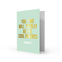 Greeting card cool parents