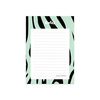 Noteblock Zebra Mint