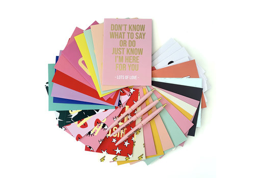 Studio Stationery Stay Social Cardset