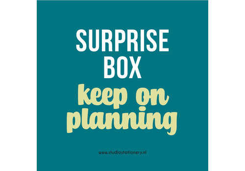 Studio Stationery SURPRISE BOX - Keep on planning