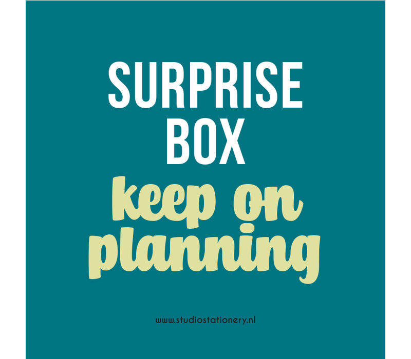 SURPRISE BOX - Keep on planning