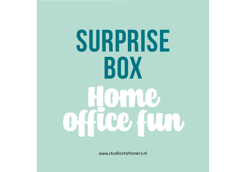 Studio Stationery SURPRISE BOX - Home office fun