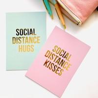 Kaart Social Distance Hugs