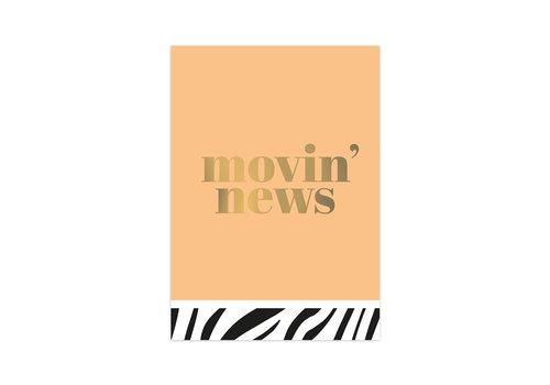 Studio Stationery Card Movin' news