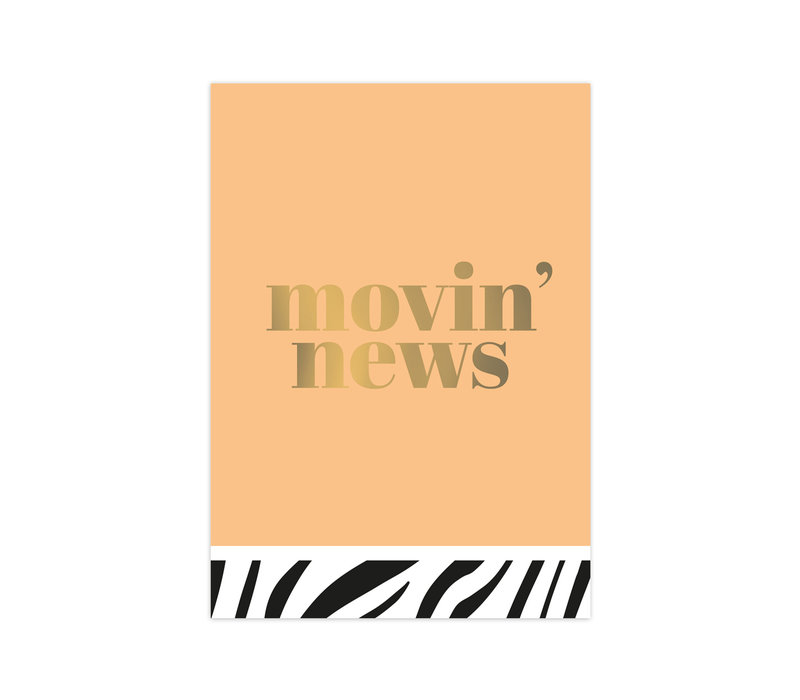 Card Movin' news