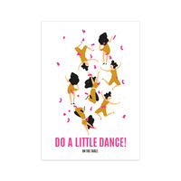 Card Do a little dance