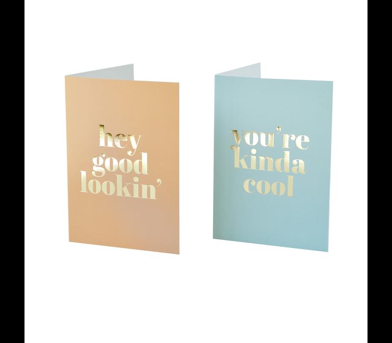 Greeting card You're kinda cool
