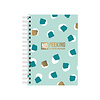 Studio Stationery A6 Notebook No Peeking - Password organizer