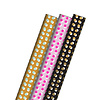 Studio Stationery 3-pack gift wrap Dots 70x200 cm