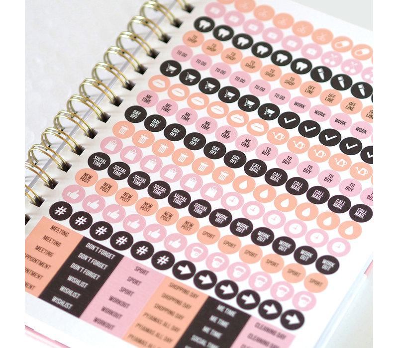 My Pink Planner Beautiful dreams in progress