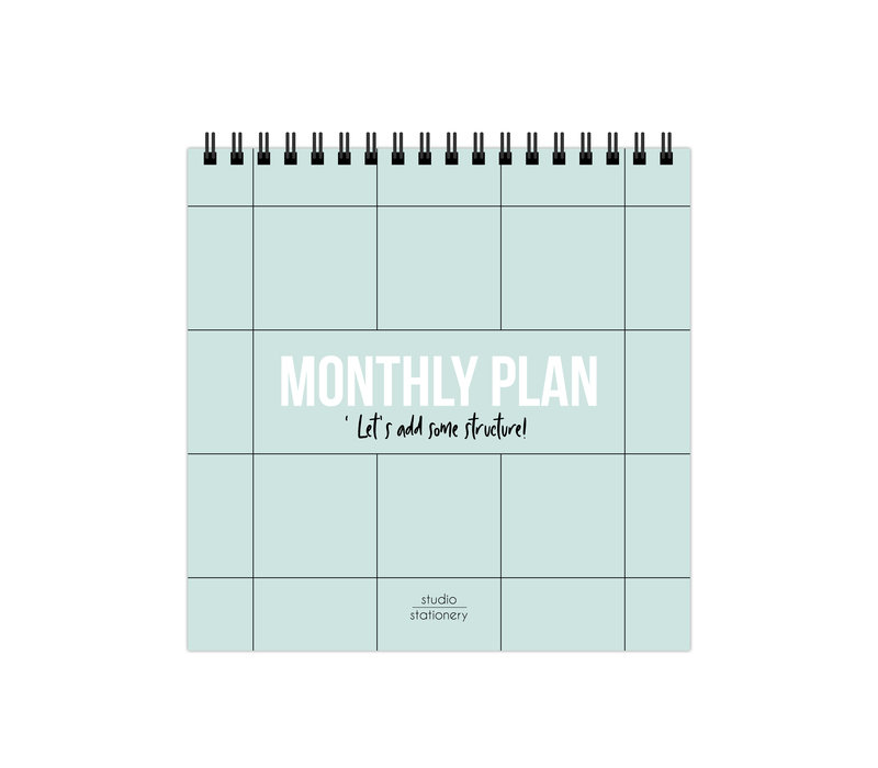 Monthly plan bureaukalender