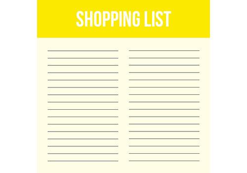 Studio Stationery Mini Shopping list