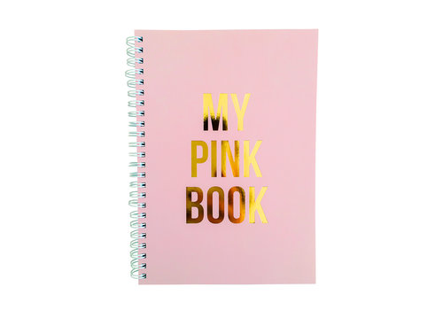 Studio Stationery Notebook My pink Book