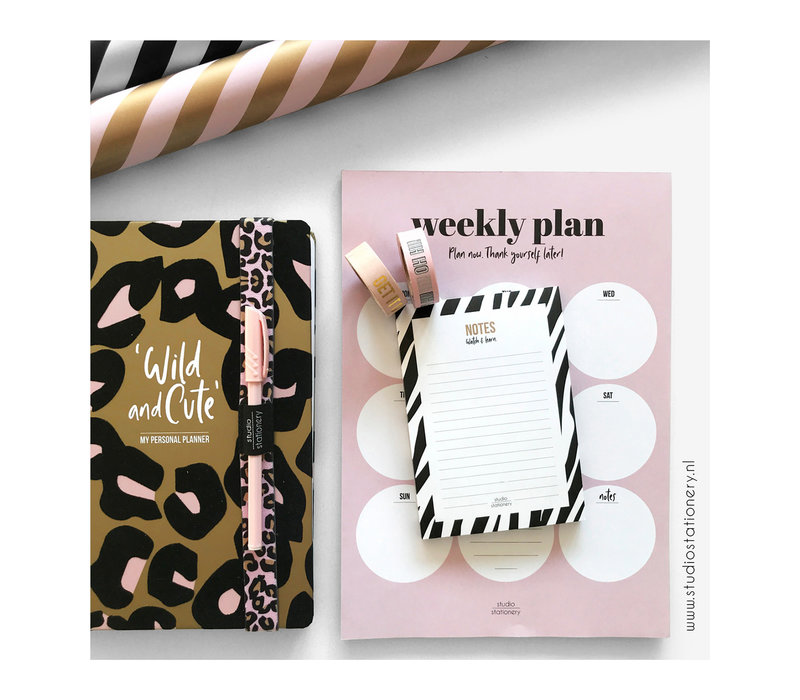 School Planner - Wild & Cute