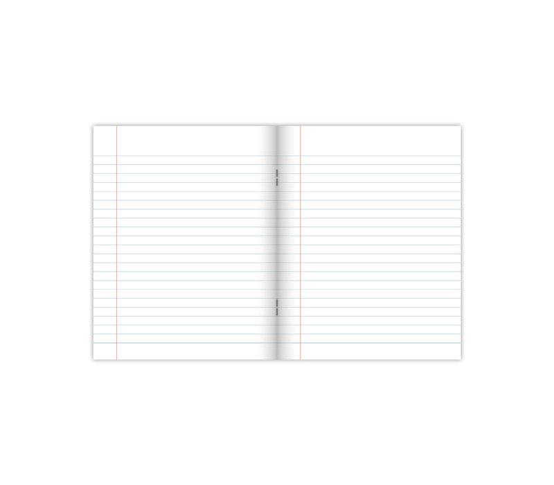 A5 school schriften softcover Warm 4-pak