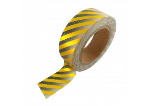 Studio Stationery Washi tape Gold foil gradient black