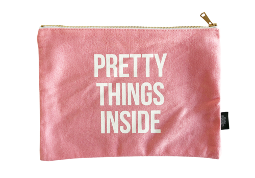 Studio Stationery Canvas bag Pretty things inside