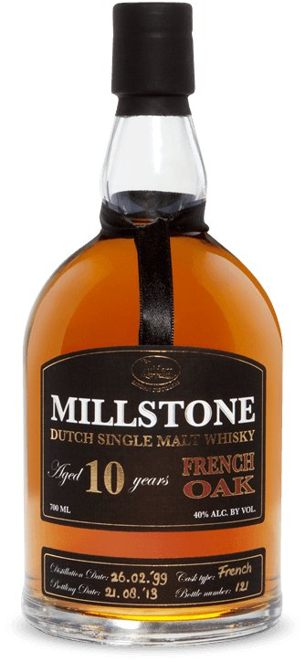 Zuidam Millstone Dutch Single Malt Whisky 10yo French Oak
