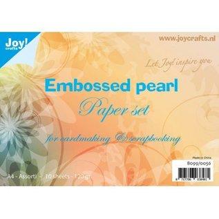 Papierset geprägt pearl A4 - 8099/0056