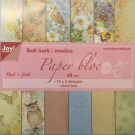 Paperbloc Owl's field 6011/0208