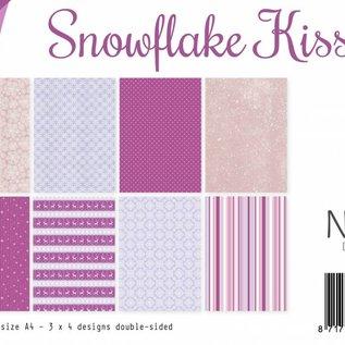 Papierset A4 - Snowflake kisses