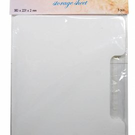 Clearstamp storagesheets for 6200/0070