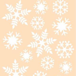 Polybesa Schablone - Schneeflocken