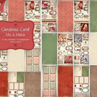 Papier- Stanzblock - Christmas Carol