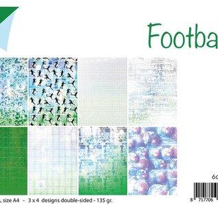 Papierset - Fußball