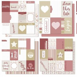 Scrap Designpapier - Love this life 6011/0536