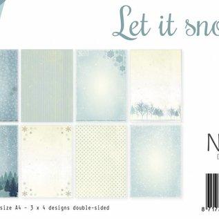 Papierset - Let it Snow A4