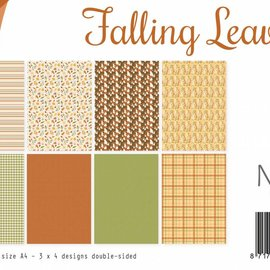 Designpapier - Falling Leaves 6011/0540