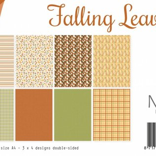Designpapier - Falling Leaves
