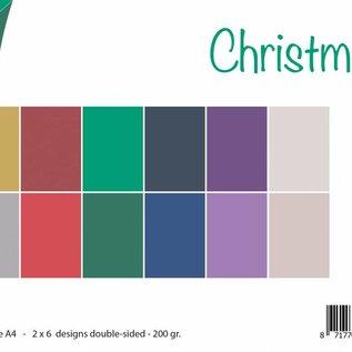 Papierset Matching Colors Uni - Weihnachten