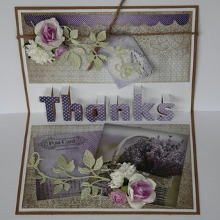 Artificial Flowers - Rosen lachs/rosa/lila groß