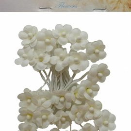 Artificial Flowers - Small flowers ivory