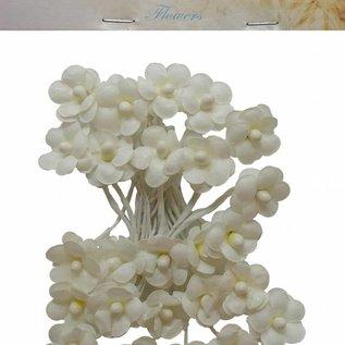 Artificial Flowers - Blumen klein Creme