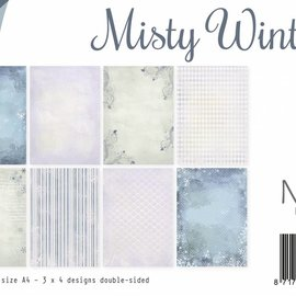 Papierset - Misty Winter 6011/0527